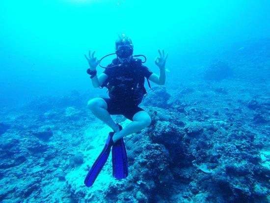 Blue Marlin Dive Gili Trawangan: During my Advanced Open Water
