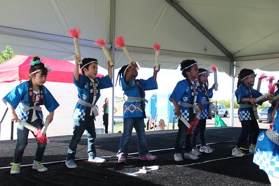 Gilbert, AZ: Global Village Children Dancing