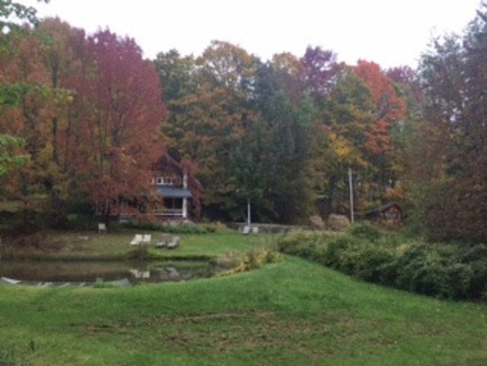 The Inn at Woodchuck Hill Farm: The pond by the main house