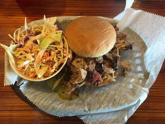 The Joint: Pulled pork burger