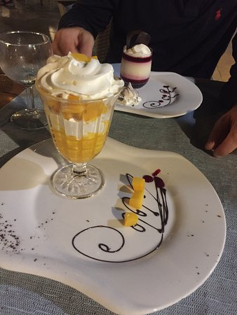 Restaurant Farid: Wonderful deserts