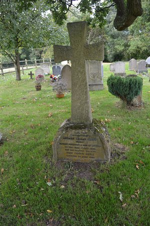 Minstead, UK: final resting place of Sir Arthur Conan Doyle