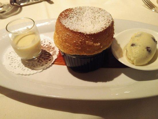 Five Sails Restaurant: Das Souflè, unvergleichlich gut!