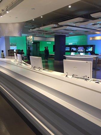 Microsoft Visitor Center: Espaço interno