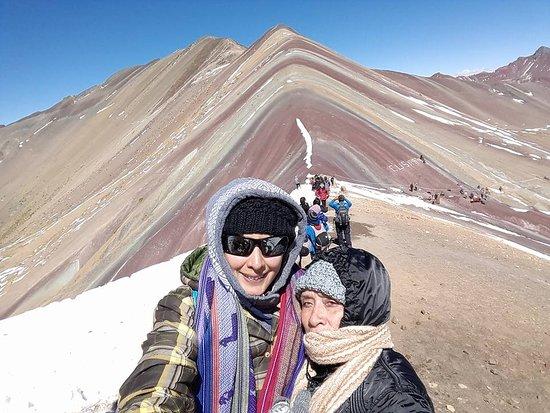 Región Cuzco, Perú: Montaña de Colores.