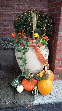 Ellsworth, ME: cute fall decorations