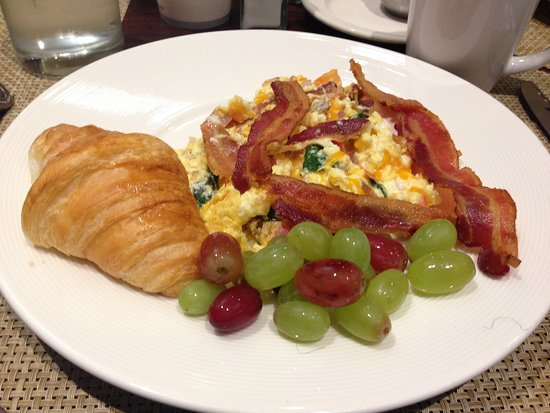 Irving, TX: My breakfast buffet selection at The Market