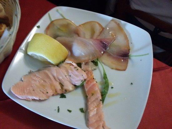 l antica marina carpaccio e salamone