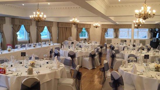 St James Hotel Our Wonderful Wedding Reception