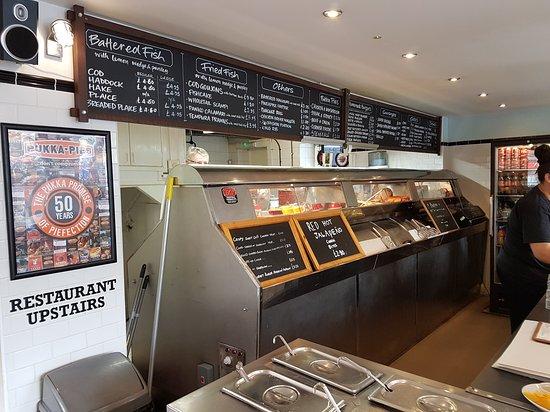 The model fish bar stamford omd men om restauranger for Fish restaurant stamford