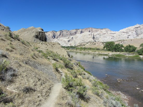 Jensen, UT: Walking with our dog on the River Trail. Take water!