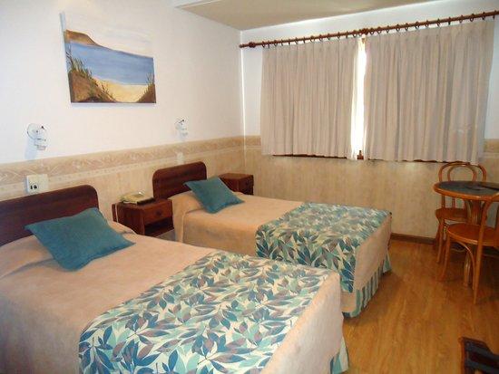 Bahia Nueva Hotel: Habitación doble con vista al mar (más cara pero sin igual)