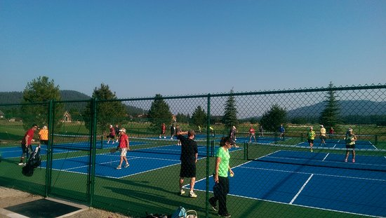 Blanchard, ID: 6 Dedicated, new pickleball courts