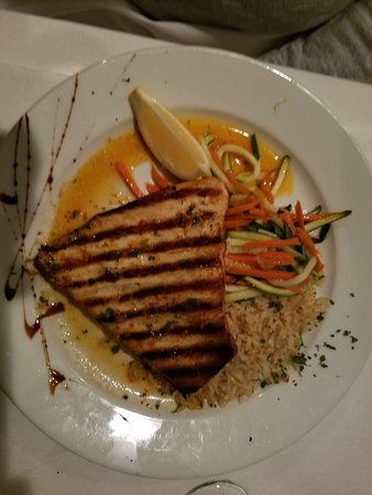 Stratford, CT: Swordfish with casino butter