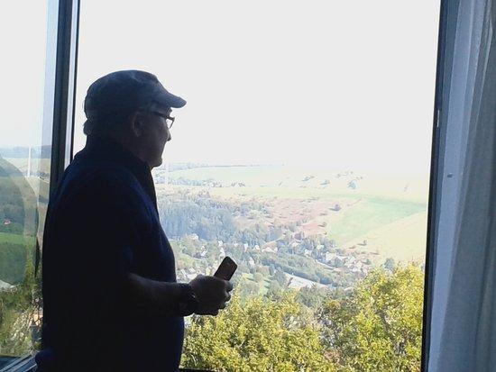 AHORN Hotel Am Fichtelberg: Ausblick aus dem 4.OG