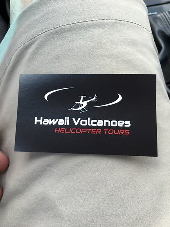 Business card picture of hawaii volcanoes helicopter tours hilo hawaii volcanoes helicopter tours business card reheart Gallery