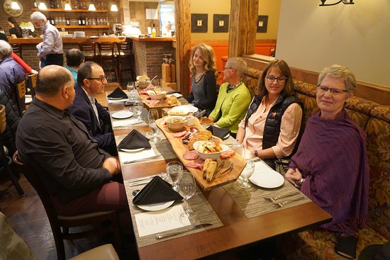 Terrafina Restaurant: Appetizer board of shared food