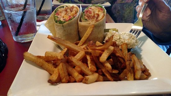 South Royalton, VT: Oct 2016 - Wrap and Fries