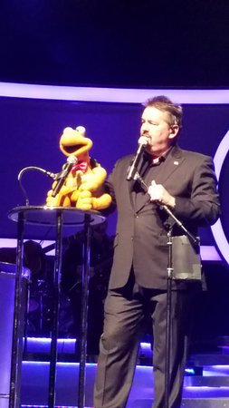 Terry Fator show - 3rd row - Picture of The Mirage Hotel