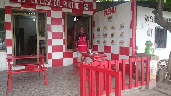 Moyogalpa, Nicaragua: Casa de Poutine