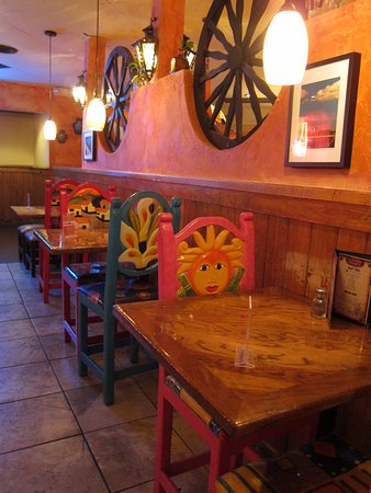El Rodeo Mexican Restaurant: Imported Mexican Furnishings