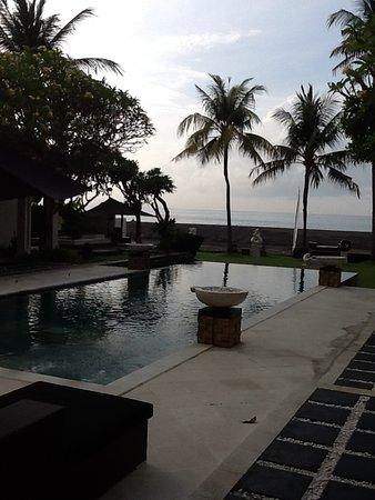 Villa Ylang Ylang: Salt water pool
