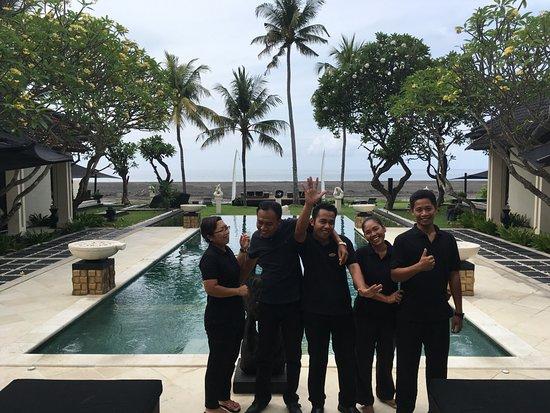 Villa Ylang Ylang: The amazing staff