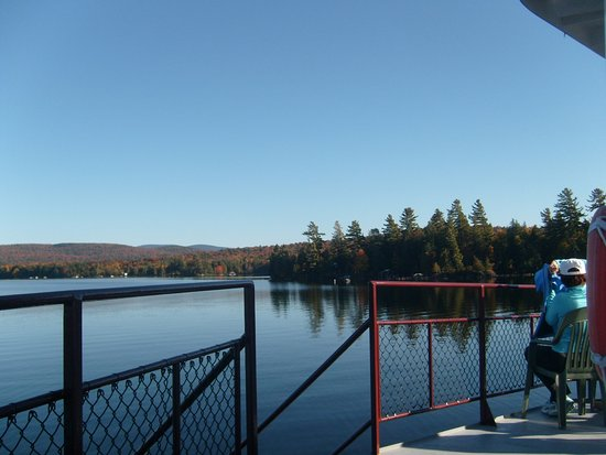 Raquette Lake, NY: enjoying the foliage and the views