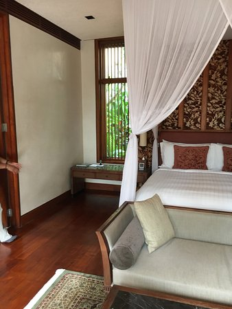 interior of pool villa with outdoor shower picture of four