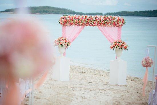 Banana Fan Sea Resort: Wedding at Banana Fan Sea, Ko Samui, Thailand