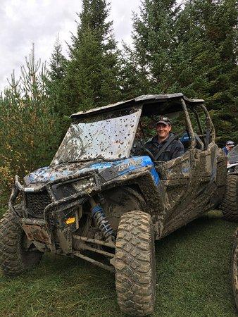 Pittsburg, Nueva Hampshire: Found a little mud!