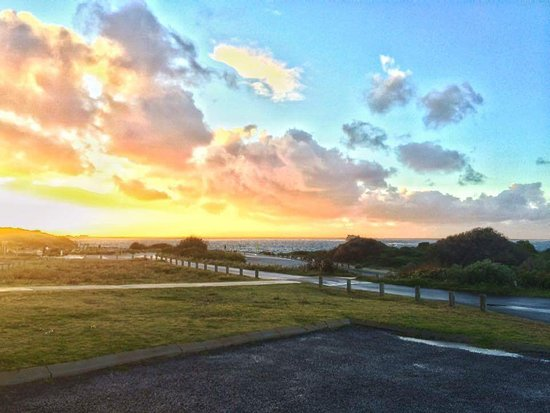 Hamelin Bay, Australia: View from outside our cottage