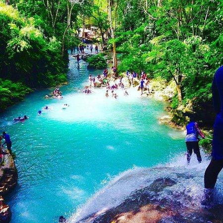 Blue Hole Ocho Rios Jamaica Picture Of Island Flex Tours Ocho Rios Tripadvisor