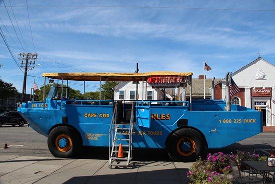 Main Street Hyannis: Cape Cod Duckmobile