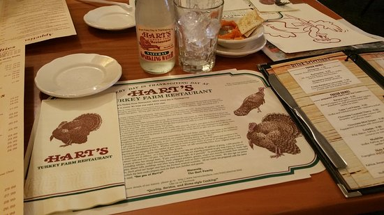 hart s turkey farm packed menu specializes in turkey dishes sandwiches