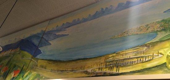 La Toscana : paint on the wall