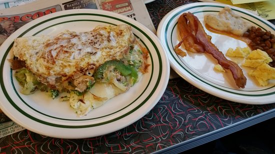 Tilton, NH: The omelets are the BEST! At least this year (2016) they were!