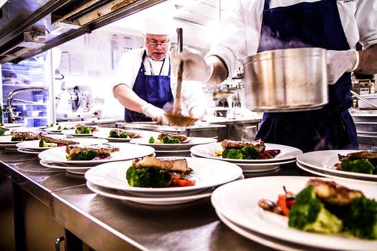 Hedmark, Νορβηγία: Vi lager ofte mat til større selskaper eller anledninger