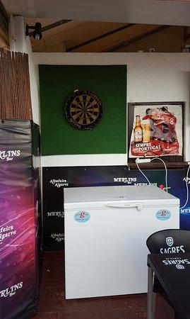 Merlins Bar.