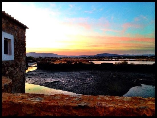 Fuseta, Portugal: Por do Sol no Mó de Cima