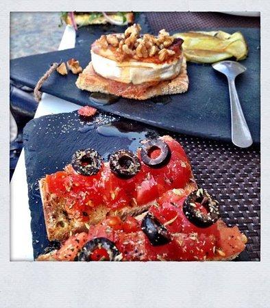 Fuseta, Portugal: Tapa de tomate
