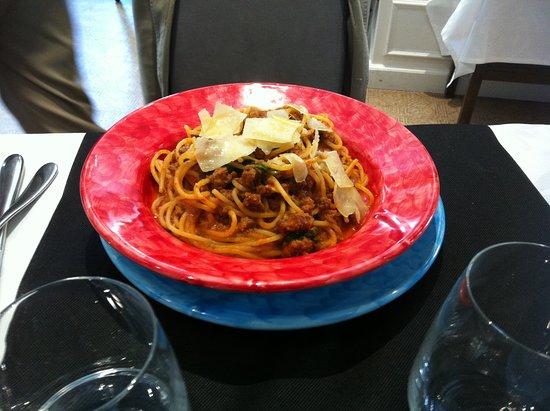Cantón de Ginebra, Suiza: Spaghetti bolognèse