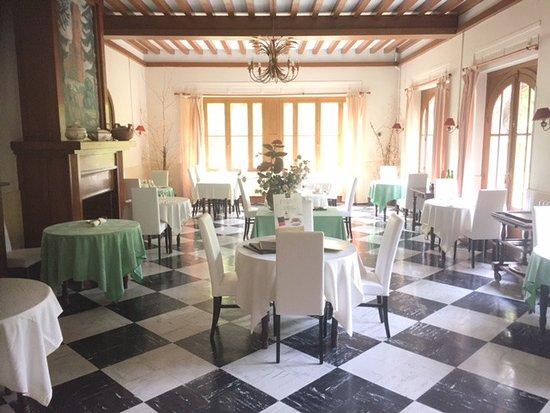 Barbotan-les-Bains, Francia: Salle de restaurant