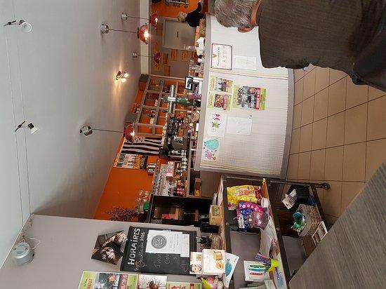 Le Mas-d'Agenais, France : Le Bistro de la Halle