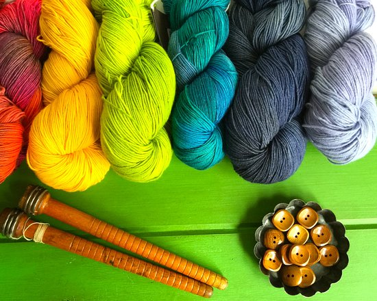 Christiansburg, VA: Beautiful Hand Dyed Merino Yarns