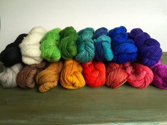 Christiansburg, VA: Lushious Merino Silk Blend Yarns