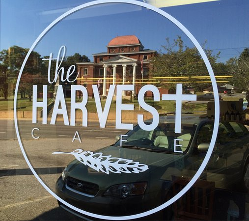 Jefferson, Carolina del Norte: The Harvest Cafe has locally roasted coffee and locally made food. Fresh sweets and treats and f