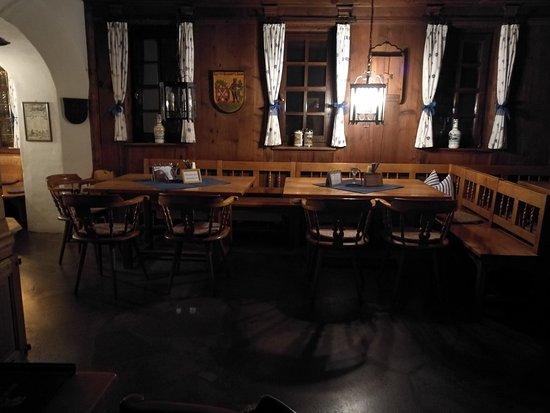 Hotel Riesengebirge: ...das urige+gemütliche Restaurant....