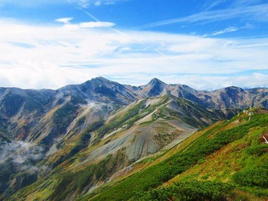 白馬岳照片