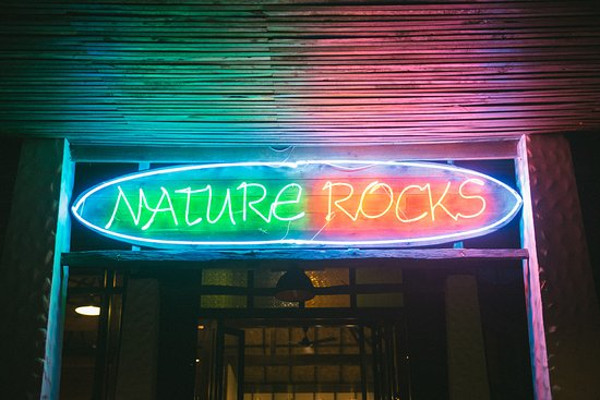 Nature Rocks: Come try out food. Our restaurant is in Nature Beach Resort, the best location in Lonely Beach